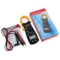 tester ac dc digital klemme meter großhandel-ANENG DT3266L Digitale Strommesszange AC DC Amperemeter Multimeter Voltmeter 400A Elektronische Strommesszange Diode Fire Wire Tester