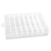 Wholesale plastic adjustable compartment box for sale - Group buy 24 Compartment Slot Storage Box Practical Adjustable Plastic Case For Bead Rings Jewelry Display Organizer Storage Box Tool Co