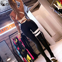 Wholesale yoga pants female for sale - Group buy Active Women Yoga Jumpsuit Female One Piece Sports Pants Sexy Backless Workout Clothes Mujer Fitness Running Gym Sport Clothes SH190831