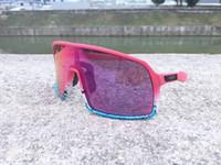 ingrosso nuovissima bicicletta-Nuovo marchio Sutro Polarizzati Occhiali da ciclismo Uomo Donna MTB Bicicletta da equitazione Occhiali sportivi Occhiali da ciclismo 3Lens