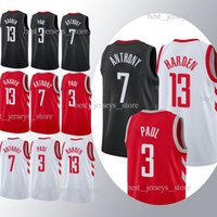 Wholesale hot cotton sportswear for sale - Group buy 2019 jerseys Harden Paul superior quality Free shopping new Hot sale Jersey sportswear Adult