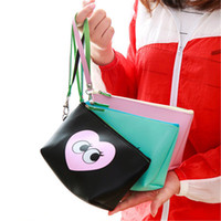Wholesale cartoon girl phone for sale – best Bag woman with small bag makeup new fashion girl creative child mother makeup large capacity waterproof pick up