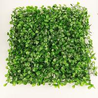 ingrosso ciottoli di plastica-prato sintetico erba sintetica in plastica erba 25 * 25 cm 30 pezzi
