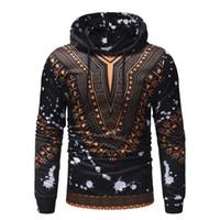 gravures africaines à vendre achat en gros de-Afrique Dashiki Mode Hommes Sweat-shirts imprimé ethnique vent 3D Sweatshirt à capuche Casual Male Sweat Hot ventes