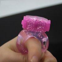 jouets de coqs de silicium achat en gros de-Papillon Anneau Silicium Vibrant Anneau De Pénis Anneaux De Pénis Sex Toys Produits De Sexe Jouet Pour Adultes