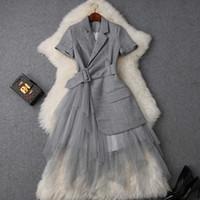 1690d763e8b4 Venta al por mayor de Elegantes Vestidos Cortos De Encaje De Verano ...