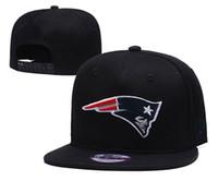 chapéus de beisebol multi cor venda por atacado-Top venda Boné de Beisebol EUA Moda 2019 Patriots Sports Cor Preta Snapback Hip hop Cap Cap viseira Chapéu casquette de marq
