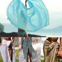 полотенца для перронов оптовых-женские пляжные накидки пляжное полотенце с бахромой солнцезащитная одежда шаль в приморский праздничный фартук