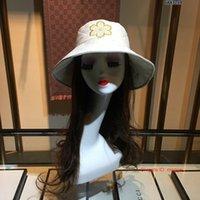 Wholesale boys braids for sale - Group buy 2019 New ladies Wide fedora Brim Floppy Fold Sun bucket Hat Hats for Women Out Door Sun Protection Hat Women Beach Hat