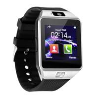 zeki akıllı saat toptan satış-DZ09 akıllı İzle android smartwatch SIM Akıllı cep telefonu izle uyku durumunu kaydedebilir bluetooth akıllı saatler
