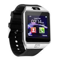 батареи bluetooth оптовых-DZ09 смарт-часы android smartwatch SIM интеллектуальные часы мобильного телефона могут записывать состояние сна bluetooth смарт-часы