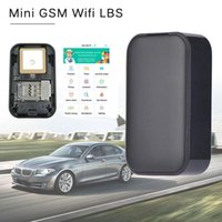 Wholesale mini wallet gps tracker resale online - Mini GSM Wifi LBS G03s GPS Tracker Voice Recorder Locator Tracking For Kids Child Old Man Vehicle Luggage Wallet