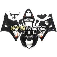k3 gsxr verkleidungen großhandel-Gloss Black ABS-Kunststoff-Einspritzmotorrad-Verkleidungen für Suzuki GSXR1000 K3 2003 2004 03 04 deckt gsxr 1000 Motorradverkleidungen ab