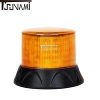 luz de advertencia del techo al por mayor-Luz de baliza universal LED Luz de advertencia intermitente Coche Autobús Camión Luces de indicación estroboscópicas de emergencia magnéticas Lámpara de advertencia de techo superior