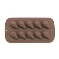 Wholesale halloween chocolate molds resale online - 10 Grids Chocolate Cake Mold Halloween Witch Bone Ghost Bat Fondant Pumpkin Shape Cake Mould Soap Molds Cake Decorating Tools