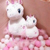 ingrosso le ragazze fioriscono-Ins in un fiore di ciliegio unicorno bambola carina ragazza regalo di San Valentino per ragazze unicorno peluche
