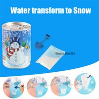 Wholesale toy powder for sale - Group buy Artificial Snow Instant Snow Powder Fluffy Snowflake Super Absorbant Frozen Party Magic Prop Christmas Party Decor Toy
