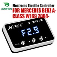 Wholesale parts mercedes benz car resale online - Car Electronic Throttle Controller Racing Accelerator Potent Booster For MERCEDES BENZ A CLASS W169 Tuning Parts Accessory