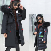 Wholesale years boys red white clothes for sale - Degree Winter Children s Down Parka Jacket New Warm double sided Snowsuit Winter Coat for Kids Girls Clothes year