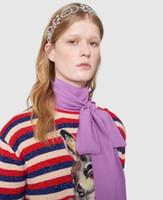 ingrosso capelli sposa bling-New Designer Full Strass Lettera Fasce Bling Bling Alfabeto Satin Fascia per capelli Accessori per capelli Sposa Copricapo
