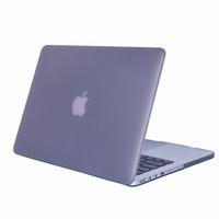 macbook pro 15.4 kapağı toptan satış-Plastik Sert Kabuk Kapak Durumda [Mat] Apple Macbook Air Pro Retina Için 11.6