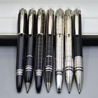 ingrosso fontana di lusso-Prezzo all'ingrosso Promozione - Alta qualità Star-waiker penna a sfera in resina nera penna a sfera penne stilografiche di lusso MB scuola forniture per ufficio