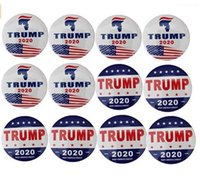 Wholesale novelty badges for sale - Group buy Trump Buttons Pins Keep America Great Brooch Novelty Gift Pins Badge for Clothing Jeans Hat Bag Decoration Presidential Election Campai