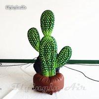 aufblasbare amusements groihandel-Simulierte Inflatable Zimmerpflanzen Kaktus 1.5m / 2m Sukkulente Modell Kaktus Für Vergnügungspark Thema Dekoration