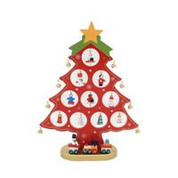 Wholesale swings for trees for sale - Group buy Christmas tree Santa Claus Snowman Wooden Swing Decoration Decoration christmas decorations for home arbol de navidad