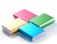 Wholesale cell phone battery retail packaging for sale – best QiChen Power Bank mah Portable Charger External Battery Charger Backup Powers Cell Phone Chargers With Retail Package For Smart Phone