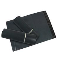 полиэтиленовый пакет для одежды оптовых-Высокое качество 17x30 см поли самоуплотняющийся самоклеящийся почтовый пластиковый пакет для упаковки одежды мешок водонепроницаемый логистика упаковка мешок JXW042
