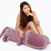 Wholesale toy hippo gifts for sale - Group buy Hippo large pillow doll press bed doll doll plush toy cushion pillow wedding birthday gift children birthday gift