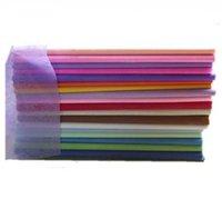 ingrosso scatola offset-50PCS Mix colore 50X50cm carta velina per l'imballaggio del fiore confezione regalo pacchetto spedizione gratuita
