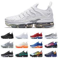 huge selection of 78369 9141a Nike air vapor max vapormax plus Laufschuhe für Herren Damen Sneakers PURE  PLATINUM dreifach schwarzweiß USA cooler Wolf grau Herren Trainer Designer  ...