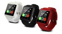 умные часы водонепроницаемые яблоко оптовых-Оптовая U8 Smart Watch Водонепроницаемый Bluetooth SmartWatch Спорт Шагомер Наручные Умные Часы Для Android iPhone Яблоки Сотовый Телефон