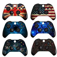 Wholesale game controller sticker resale online - Skin Decal Sticker Cover Wrap Protector For Microsoft Xbox One Gamepad Game Controller