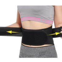 ingrosso cintura di riscaldamento tormalina-Supporto lombare regolabile Cintura Tourmaline Self-riscaldamento Terapia Torna gancio della vita Cinture termica Protezione doppio fasciato