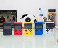 Wholesale best player games resale online - 400 in Retro FC Bit Mini Handheld Portable Game Players Game Console LCD Screen Texture Surface Support TV Out Best Gift MQ50 DHL