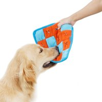 Wholesale funny pet toys resale online - Pet slow portable dog feeder toys toy training funny interactive Mat swelling for dog toy for chewing dogs products