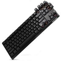 braunes system großhandel-GANSS 87-Key Gaming-Tastatur [Cherry MX Brown Switches] Mechanische Office-Tastatur für Windows und Mac OS Dual System