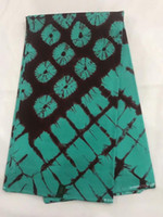 tecidos java print venda por atacado-2019 Nigéria bloco de cera java real impresso tecido 6 metros para o traje hollandais 100% algodão estampas de cera africano tecidos! OT-4142