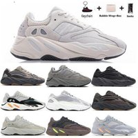 Wholesale best running shoes resale online - Kanye West Mnvn Bone Running Shoes best quality shoe Orange Black Reflective Men Women Sneakers trainers Size36