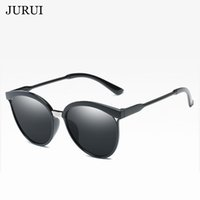 strahlenschutzbrillen großhandel-Frauen Rosa Sonnenbrille Männer Mode Kunststoffrahmen Eyewear Marke Designer Vintage Strahlenschutz Sonnenbrille uv400