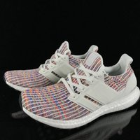 Wholesale comfortable knitted shoes resale online - Knit Breathable Ultra Running Shoes Mens Womens Pink Colorful Comfortable Designer Sneakers Fashion Sports Trainers High Quality
