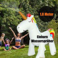 детские игрушки оптовых-Надувной Шланг Unicornn Play Water Sprinkler Игрушка для Детей На Открытом Воздухе Весело Летний Всплеск Двор Летняя Спринклерная Игрушка Пляжный Мяч Спрей Газон