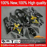 Wholesale black kawasaki ninja pink resale online - OEM Body For KAWASAKI ZX CC R black golden ZX ZX636 HC ZX600 ZX R ZX CC ZX6R ZX R Fairing