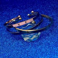 brazalete de amor al por mayor-Carving Love Bracelet Silver Rose Gold Love Brazalete abierto Pulseras de boda para mujeres amantes Joyería Will y Sandy Drop Ship 162042
