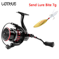 Wholesale ice fishing lures for resale online - Linnhue New Design Fishing Reel LS Spinning Reel Shallow Wire Cup Light Fishing Tackle for Lure fishing Carp Fishing T191015