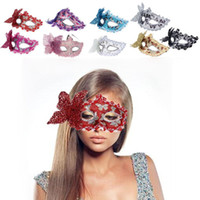 Wholesale hollow masks for sale - Group buy Butterfly Mask for Party PC Venetian Hollow Out Masquerade Halloween Party Mask Elegent Multi Colors D21