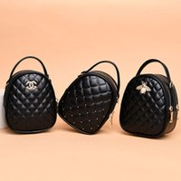 Wholesale circular beads for sale - Group buy Female new Korean version of the rhombic crossbody bag double small versatile shoulder bag tide